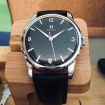 오메가 Classic Mechanical Cal 285 Black dial Mens watch + Box