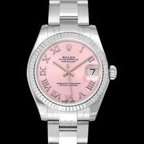 Rolex White gold Automatic Lady-Datejust