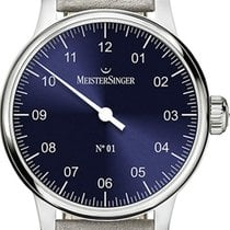 Meistersinger N° 01 AM3308 New Steel 43mm Manual winding