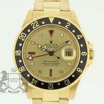Rolex GMT-Master II Жёлтое золото 40mm Золото Без цифр