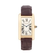 Cartier Tank Américaine pre-owned 26mm Yellow gold