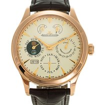 Jaeger-LeCoultre Master Eight Days Perpetual pre-owned 43mm Rose gold