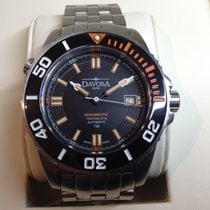 Davosa Argonautic Lumis Steel 42mm Black No numerals