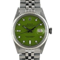 "勞力士 DATEJUST 1601 SS with ""Stella"" Light Green Diamond Dial"