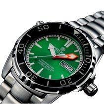 Deep Blue Pro Aqua 1500 Diving Watch Auto Day/date 1500m/5000f...