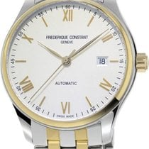 Frederique Constant Steel 40mm Automatic FC-303WN5B3B new