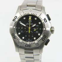TAG Heuer Aquagraph Steel Black No numerals