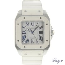 Cartier Santos 100 tweedehands 33mm Staal