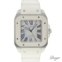 Cartier Santos 100 MM White