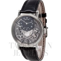 Breguet 41mm Manual winding pre-owned Tradition Black