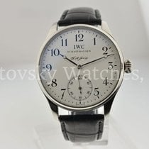 IWC Portuguese Hand-Wound Platinum 43mm Arabic numerals United States of America, California, Beverly Hills