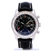 Breitling A2432212/B726 Steel 2014 Navitimer World 46mm pre-owned
