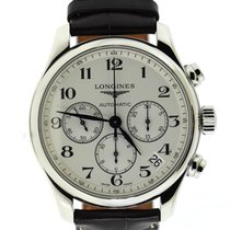 Longines Master Collection Steel 44mm Silver Arabic numerals United States of America, New York, New York