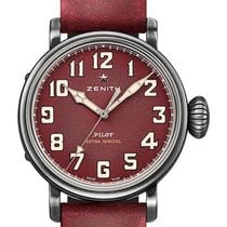 Zenith Pilot Type 20 Extra Special Staal 40mm Rood