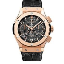 Hublot Rose gold Automatic No numerals 45mm pre-owned Classic Fusion Aerofusion