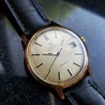 Omega Genève pre-owned 35mm Date Leather