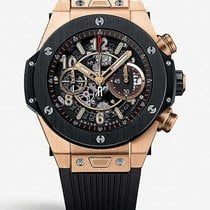 Hublot Big Bang Unico Rose gold 45mm Transparent Arabic numerals United States of America, New Jersey, Princeton