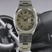 Rolex Air King Date Steel 35mm Silver