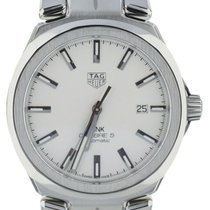 TAG Heuer Link Calibre 5 Steel 41mm White United States of America, Illinois, BUFFALO GROVE