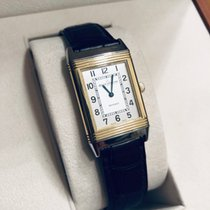 Jaeger-LeCoultre Reverso Lady Gold/Steel 35,78mm Silver Arabic numerals