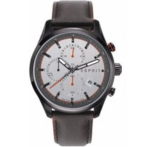 Esprit Steel 44mm Quartz ES108391007 new