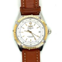 Breitling Antares Steel 40mm White No numerals