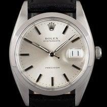 Rolex Oyster Precision Otel 34mm Argint