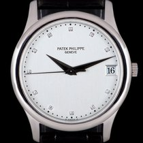 Patek Philippe Calatrava 3998P Very good Platinum 34mm Automatic