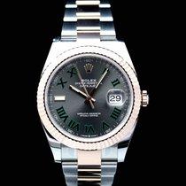 Rolex Datejust II Goud/Staal 41mm Champagne Geen cijfers Nederland, Wageningen