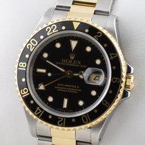 Rolex GMT MASTER II STAHL GOLD GELBGOLD HERRENUHR