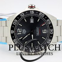 TAG Heuer Formula 1 Calibre 5 Steel 43mm Grey Arabic numerals