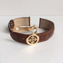 百達翡麗 Rose gold calatrava folding buckle (16mm)