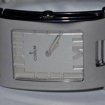 Corum Tabogan Stahl 24mm Silber Römisch