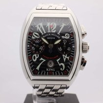 Franck Muller 40mm Automatic pre-owned Conquistador Black
