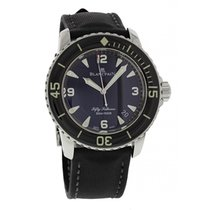 Blancpain Fifty Fathoms 5015-1130-52B Automatic Box & Papers