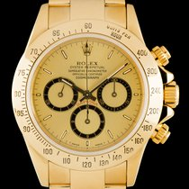 Rolex Daytona Zenith Gold 16528
