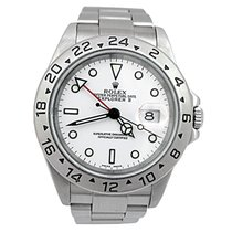 Rolex 40mm Rolex Stainless Steel Explorer II Watch with White...