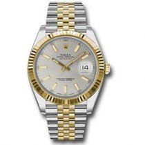 Rolex Datejust 126333 SIJ Unworn Gold/Steel 41mm Automatic