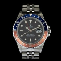 Rolex GMT Master 16700 with Rolex service papers dated August...