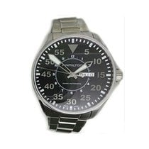 Hamilton Khaki Pilot Day Date H64715135 HAMILTON KHAKI AVIATION Acciaio Nero 46mm new