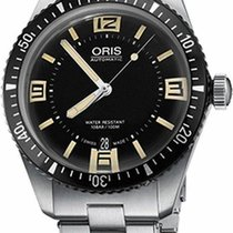 Oris Divers Sixty-Five Stainless Steel Automatic Mens Watch