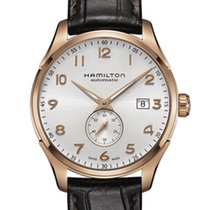 Hamilton Rose gold Automatic Silver 40mm new Jazzmaster Maestro
