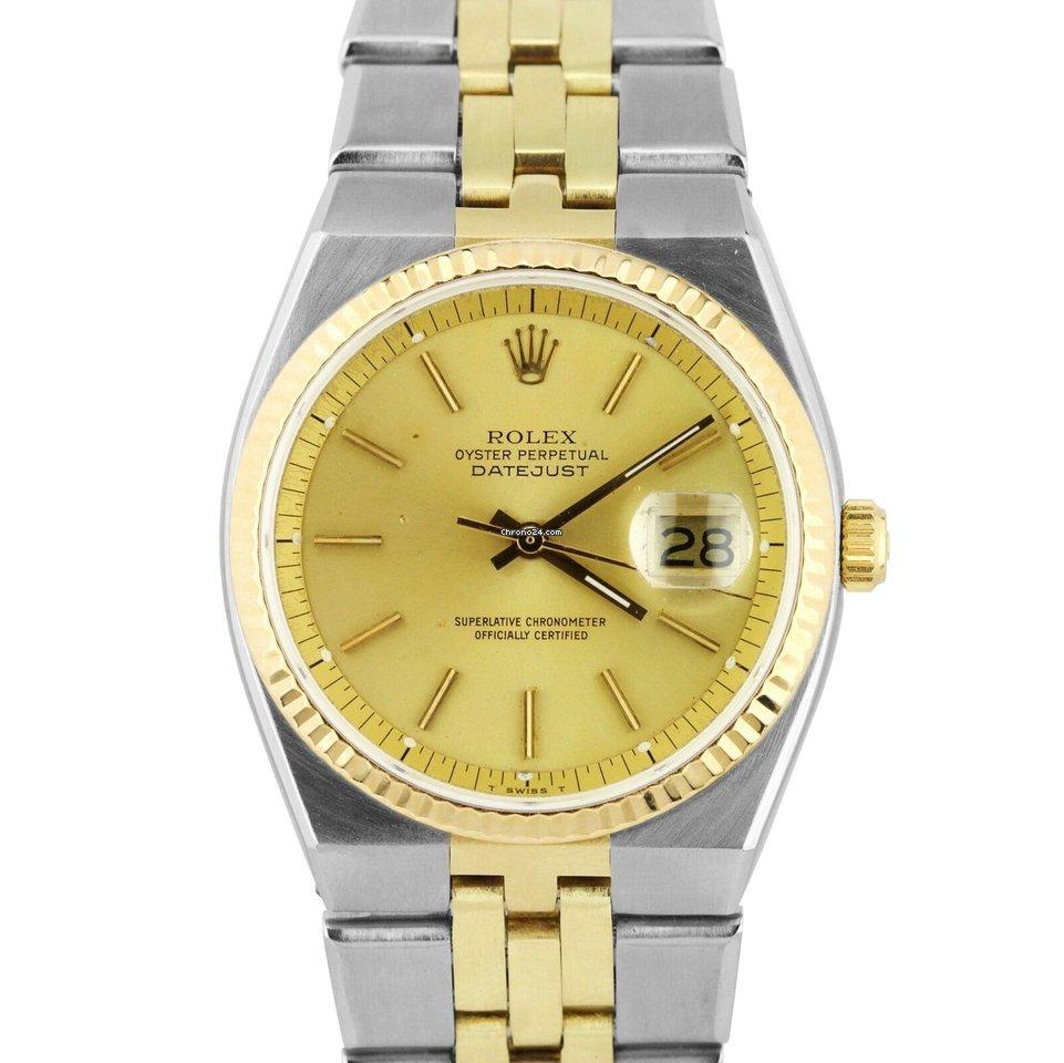 a7fdeb69c68 Rolex RARE Rolex DateJust Integral Automatic 36mm 1630... à vendre pour  3.920 € par un Trusted Seller sur Chrono24