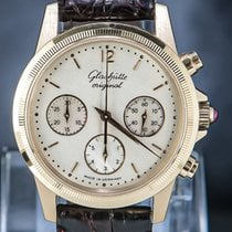 Glashütte Original PanoInverse XL Rose gold 40mm Silver Arabic numerals