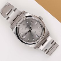 Rolex Oyster Perpetual 36 Acero 36mm Gris