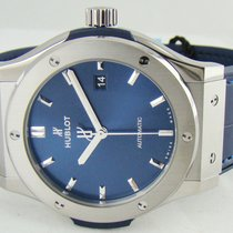 Hublot Classic Fusion Blue Titanium 42mm Blue No numerals United States of America, Illinois, Lincolnshire