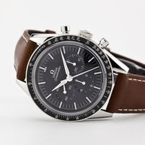 Omega Speedmaster Professional Moonwatch Steel Black No numerals United States of America, New Jersey, Oradell