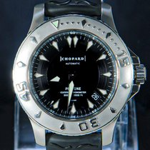 Chopard Acciaio Automatico Nero Senza numeri 42.5mm usato L.U.C