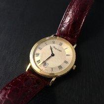 Philip Watch Yellow gold Quartz Champagne Roman numerals 33mm new