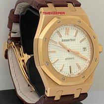 Audemars Piguet 15300OR.OO.D088CR.02 Roségold 2006 Royal Oak Selfwinding 39mm gebraucht